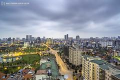 vl_03974 (Hanoi's Panorama & Skyline Gallery) Tags: park sky panorama lake skyline architecture skyscraper canon asian asia capital skylines landmark vietnam architect hanoi asean appartment lotte themanor việtnam pvi hànội skyscrapercity startower caoốc côngviêncầugiấy