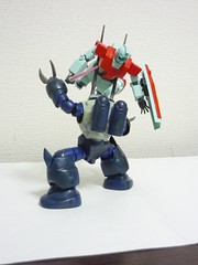 Z'GOK with horn2 (Curryramen) Tags: hguc zgok gumpla