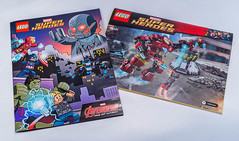 Lego 76031 - The Hulkbuster Smash (gnaat_lego) Tags: lego ironman quicksilver superheroes hulk marvel captainamerica avengers scarlettwitch hulkbuster 76031 baronvonstrucker ageofultron attackonavengerstower hydrafortresssmash