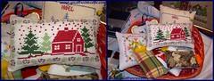 Lav 62a (Quattrocrocette) Tags: winter crossstitch handmade linen redhouse cotton inverno lino puntocroce casarossa cotone fattoamano quattrocrocette