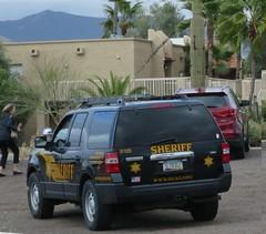 Sheriff - Ford Expedition SUV (D70) Tags: arizona usa ford expedition sheriff suv carefree