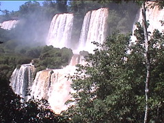 Side Falls of Iguazu