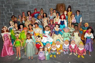 Disney Dolls from Mattel