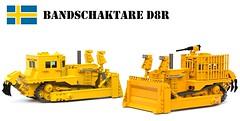 Bandschaktare D8R (Matthew McCall) Tags: lego military caterpillar bulldozer idf moc