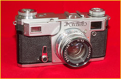Kiev 4A, 1979 (DH73.) Tags: cccp russia soviet union kiev ukraine 4a rangefinder contax 35mm cameraportrait