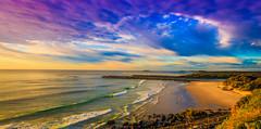 duranbah beach early morning  surf (rod marshall) Tags: sunrise snapperrocks bestsunrise sunrisesnapperrocksbestsunrise pinksunrise oceansunrise duranbahbeach