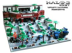 LEGO Halo 3 ODST Uplift Nature Reserve (TRLegosfan) Tags: lego halo 3 odst new mombasa uplift nature reserve moc