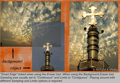 Background Removal in PaintShop Pro (Ricky Daash) Tags: sky paintshop shine cross background pillar crucifix removal chennai tutorial