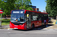 IMGP3891 (Steve Guess) Tags: uk red england bus london united surrey kingston gb surbiton alexander dennis mmc ratp tfl e20 route265
