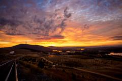 CanberraSunrise (MattFinishPhotos) Tags: sky sunrise canberra
