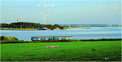 On the Other Side (Welsh Gold) Tags: arriva trains wales class sprinter 150 dmu 2l71 cheltenham spa maesteg service purton river severn gloucestershire