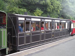 Isle of Man Steam Railway: Manx Northern Carriage 17 at Douglas (30/07/2016) (David Hennessey) Tags: isle man steam railway manx northern 3rd brake 17 douglas