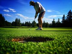 Short game (DHaug) Tags: green golf outdoors dof july qubec golfing gatineau putting putt 2016 shortgame iphone6