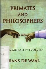 Frans de Waal, Primates and philosophers (bibliofilosofiamilano) Tags: animali etica dirittianimali