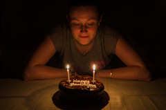 30/52:2016 Edition - Birthday/ Anniversary -DSC_0007-Edit (John Hickey - fotosbyjohnh) Tags: 2016 52weeks birthday july2016 event indoor candles birthdaycake light candlelight lady woman person week302016 52weeksthe2016edition weekstartingfridayjuly222016 dunnesstores