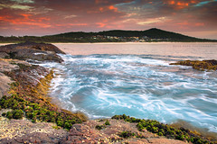 Enjoying The Coastal Life || BARRY PARK || FINGAL BAY (rhyspope) Tags: australia aussie nsw new south wales fingal bay beach port stephens sunrise sunset canon 5d mkii nelson shoal rocks sea ocean waves rhys pope rhyspope