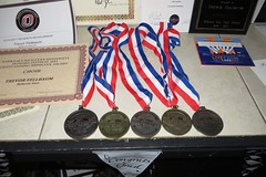 medals & awards (BarryFackler) Tags: party ribbons nebraska indoor celebration event awards certificates scholarship bellevue milestone graduationparty highschoolgraduation honors medals scienceolympiad 2016 achievements gilmorelake accomplishments bellevuenebraska bellevuene barryfackler barronfackler trevorfellbaum tjfellbaum trevorjonfellbaum tjsgraduationparty vfwpost10727 regentsscholarship outstandingmusicianaward