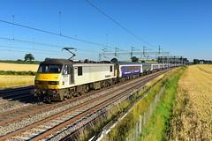 Overslept (legomanbiffo) Tags: skoda atherstone dordon wcml 90 class freightliner 90044 1m16 euston william fort inverness sleeper caledonian