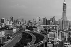 DSC_3779 (Ignacio Blanco) Tags: thailand bangkok metropolis oriental orientalcity future night lighttrails longexposure infrastructure highway cityscape skyscrapers skyline vantagepoint ratchapraroptowermansion