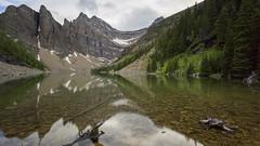 Sharp Dressed Lake (ken.krach (kjkmep)) Tags: lakeagnes banffnationalpark
