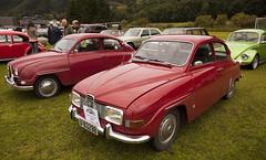 2x Saab 96 - IMG_5122-e (Per Sistens) Tags: cars thamslpet thamslpet16 orkladal veteranbil veteran saab 96