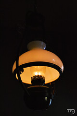 The Judge's Lodging ~ 01 ~ Gas Lamp (Tahlina) Tags: thejudgeslodging emptymuseum victorian museum powys presteigne wales nikon light gaslamp indoor workingmuseum