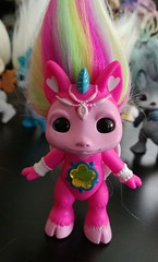 hightail (meimi132) Tags: zelfs zelf series6 cute adorable trolls hightail crystalwishes medium rainbow pink gem unicorn