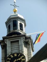 Amsterdam Gay Pride 2016 (Quetzalcoatl002) Tags: gaypride europride amsterdam gay festival westerkerk flag