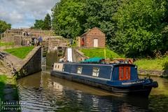 Bingley 1 (chromaphoto.co.uk) Tags: bingley leedsliverpoolcanal leeds liverpool canal fiverise locks staircase sunshine gates