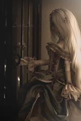 Lady of the Camellias (AyuAna) Tags: bjd ball jointed doll dollfie ayuana design handmade ooak clothing clothes ordoll nyxdoll eris hybrid little monica harmony body whiteskin