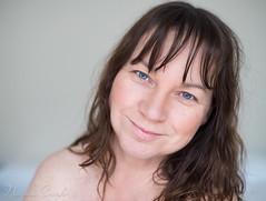 naomi160925-186 (Naomi Creek) Tags: portrait portraiture selfportrait selfdiscovery natural light soft woman blue eyes head shot nude bare shoulders
