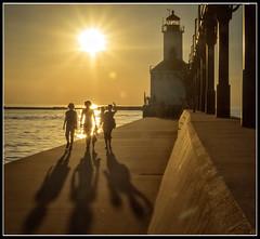 Day's End (JB_Atlanta) Tags: indiana lakeshore michigancityindiana summer sunset michigancity unitedstates