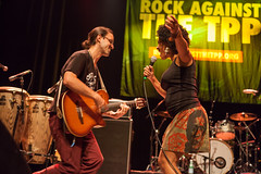 funcrunch-20160909-6837 (funcrunch) Tags: regencyballroom rockagainstthetpp tainaasili band concert guitar guitarplayer guitarist rally singer vocalist sanfrancisco california unitedstates us
