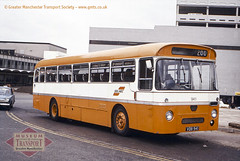SELNEC bus at Manchester airport (GMTS Collection) Tags: museum transport cheetham manchester wwwgmtscouk gmts bus buses museumoftransport greatermanchester greatermanchestertransportsociety gmtscollection boylestreet m88uw aec reliance selnec selneccheshire 941 vdb941 willowbrook airport ringway