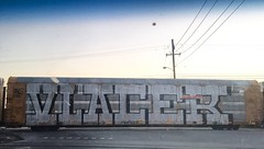 Vlacer (MC. Squared) Tags: autorack mexico freight train graffiti wholecar vlacer