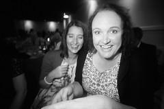 Lauren and Helen (iampaulrus) Tags: paulfargher paulfargherphotography 35mm film photoexpresshull analog analogue people lomography lomo lcwide weddingparty wedding smile smiling smiles happy fritztheblitz fritztheblitzflash portrait blackandwhite blackwhite monochrome kodak