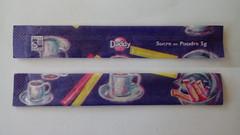 Srie Daddy Petit djeuner pastel 03 (periglycophile) Tags: priglycophilie sucrology sugar packet stick france daddy srie series petit djeuner pastel sucr bchette