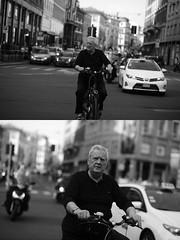 [La Mia Citt][Pedala] (Urca) Tags: milano italia 2016 bicicletta pedalare ciclista ritrattostradale portrait dittico bike bicycle biancoenero blackandwhite bn bw 89828