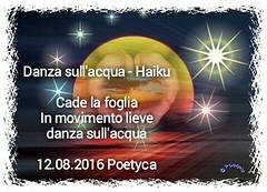 Danza sullacqua  Haiku (Poetyca) Tags: featured image immagini e poesie sfumature poetiche poesia