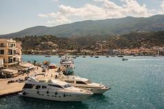 Poros - Harbour Approach (Le Monde1) Tags: poros greece greek island lemonde1 nikon d800e saronicislands sfairia kalavria harbourside yachts