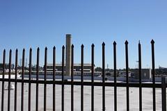 brewery, Los Angeles (vtpoly) Tags: breweryartscomplex buildings fences losangeles architecture smokestacks california polywoda artist colony