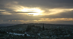 Endings (Jean I Cresol) Tags: september 10th 2016 edinburgh sunset evening nighttime city cityscape view viewpoint scotland europe
