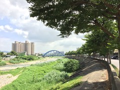 (ChanXe) Tags: beautiful sky 5s iphone5s iphone view scenery scene landscape river taichung taiwan