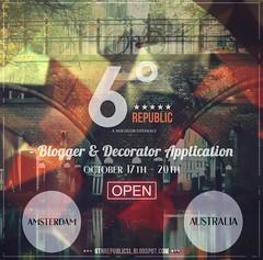 6º Republic Event: Blogger and Decorator Applications (Mikaela Carpaccio - 6º Republic Event) Tags: