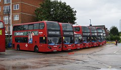 Potters Bar Garage Open Day (KLTP14) Tags: metroline pb pottersbar garage lineup open day adl enviro 400