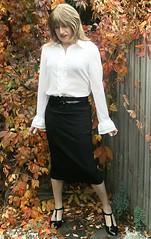 Subtle Change (Amber :-)) Tags: black pencil skirt tgirl transvestite crossddressing