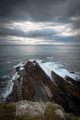 South to Scotland (MBDGE) Tags: orkney ocean scotland sea photography pentlandfirth swell seascape sun cloud canon70d contrast alba uk cliffs clifftop