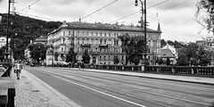 DSC08802 (photoaffaire) Tags: prag praha prague bw blackandwhite moldau tschechien czech republic sonya7 sony a7ii slr magic anamorphot voigtlnder 50mm