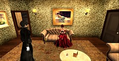"""""""I must escort you to your room Miss before we both lose our propriety.."""" (Allie Carpathia) Tags: victorian brothel witch butler friends roleplay autumn darkradiance secondlife morals"""