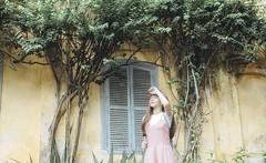 truc 9 (Nhp xinh trai siu cp !) Tags: kawaii taiwan cute beautiful girl mori sunlight zoo green japan china vietnam glasses canon 5dx outdoor dre dress